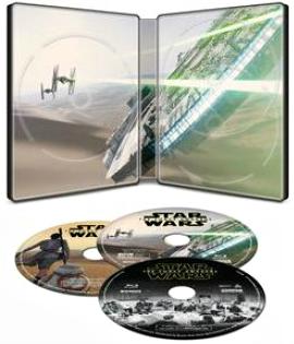 Star Wars Force Awakens SteelBook inside