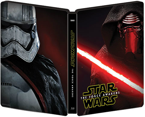 Star Wars Force Awakens SteelBook