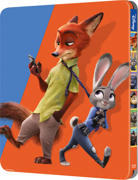 Zootopia SteelBook back