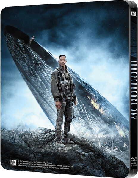Independence Day SteelBook back