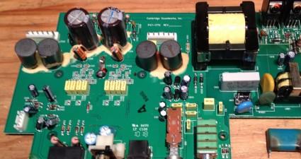 Subwoofer amp board