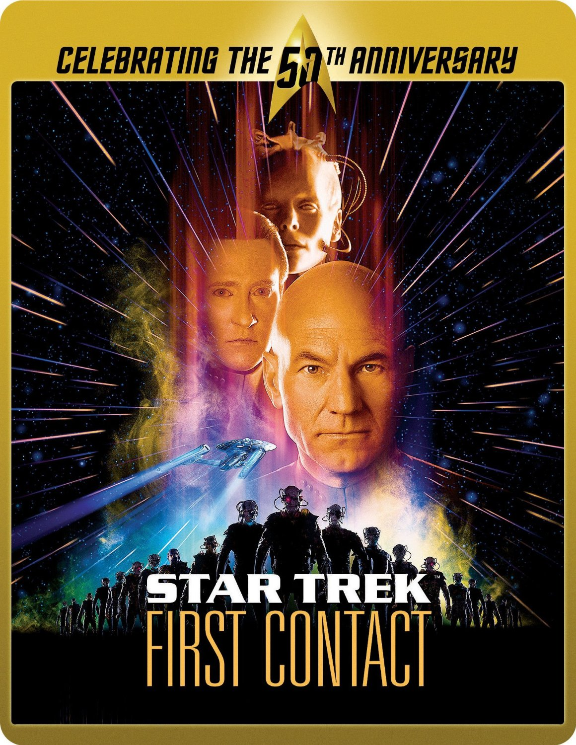 Star Trek First Contact SteelBook