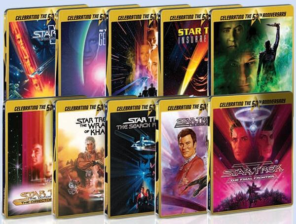 Star Trek SteelBook Collection