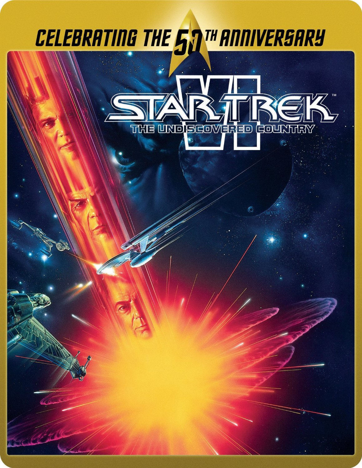 Star Trek VI SteelBook