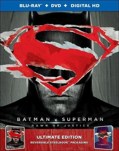 Batman v Superman SteelBook - Batman Art