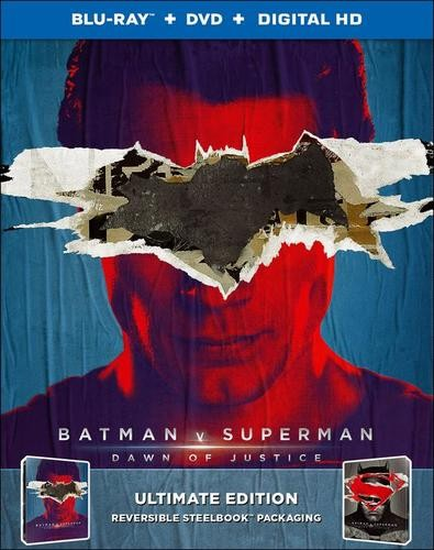 Batman v Superman SteelBook - Superman Art
