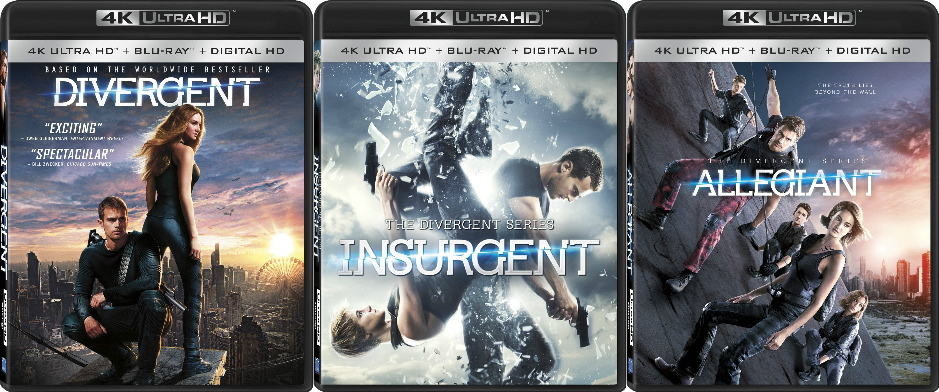 Divergent UHD Prize Pack