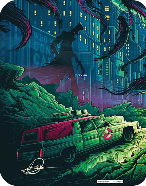 Ghostbusters 2016 SteelBook back