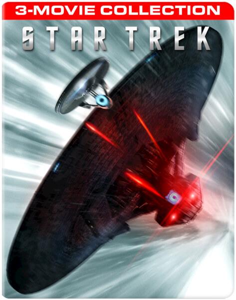 Star Trek 3-Movie Collection Rejected SteelBook Art