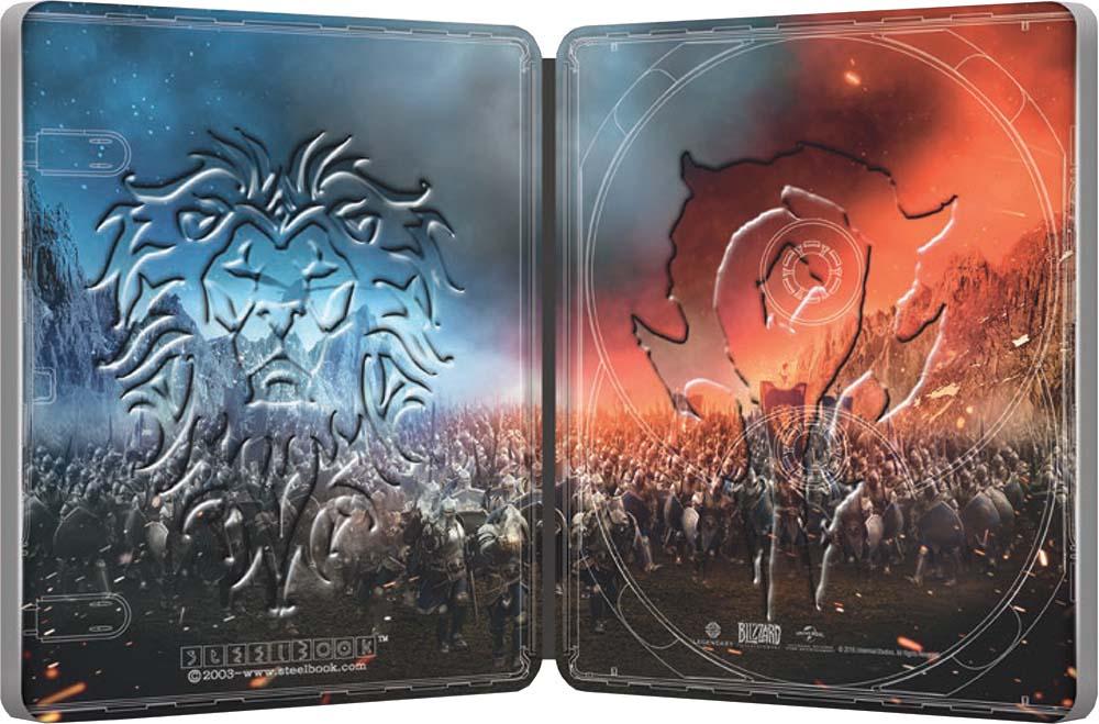 Warcraft SteelBook inside