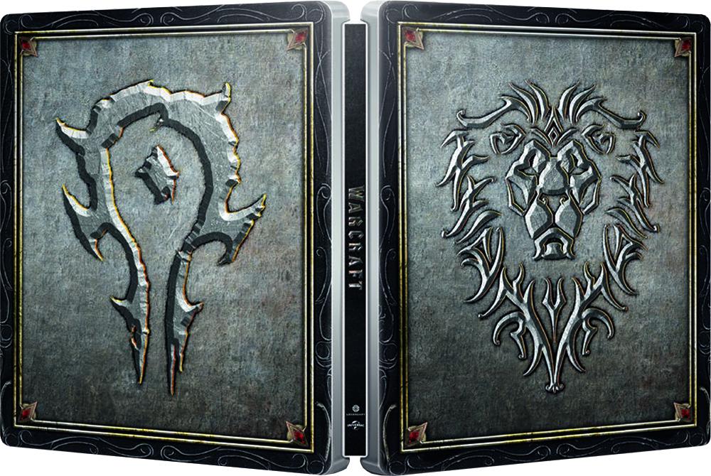 Warcraft SteelBook open