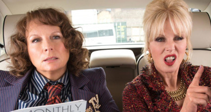 No Merchandising. Editorial Use Only. No Book Cover Usage Mandatory Credit: Photo by Moviestore/REX/Shutterstock (5695244h) Jennifer Saunders, Joanna Lumley Absolutely Fabulous The Movie - 2016