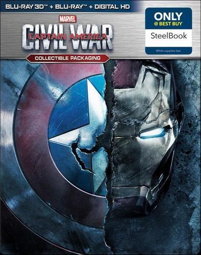 Captain America Civil War SteelBook