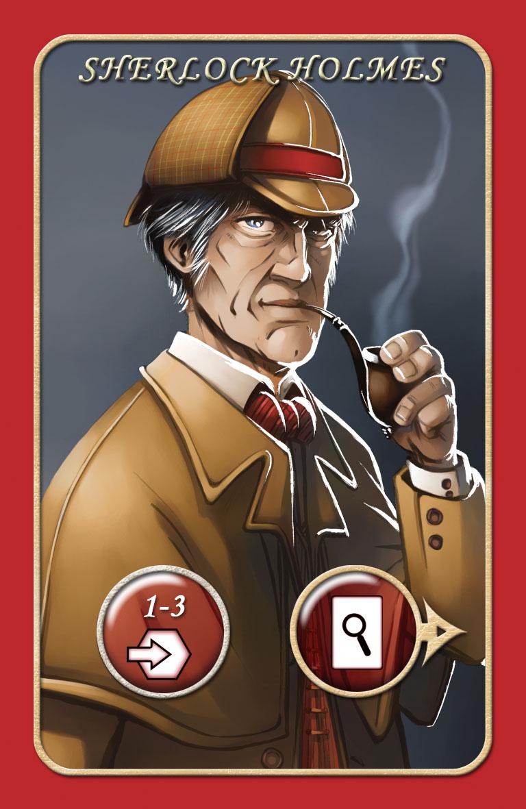Sherlock Holmes card