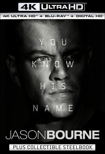 Jason Bourne UHD Steelbook