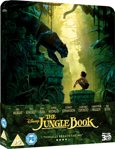 Jungle Book SteelBook
