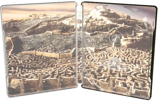 Labyrinth UHD SteelBook inside