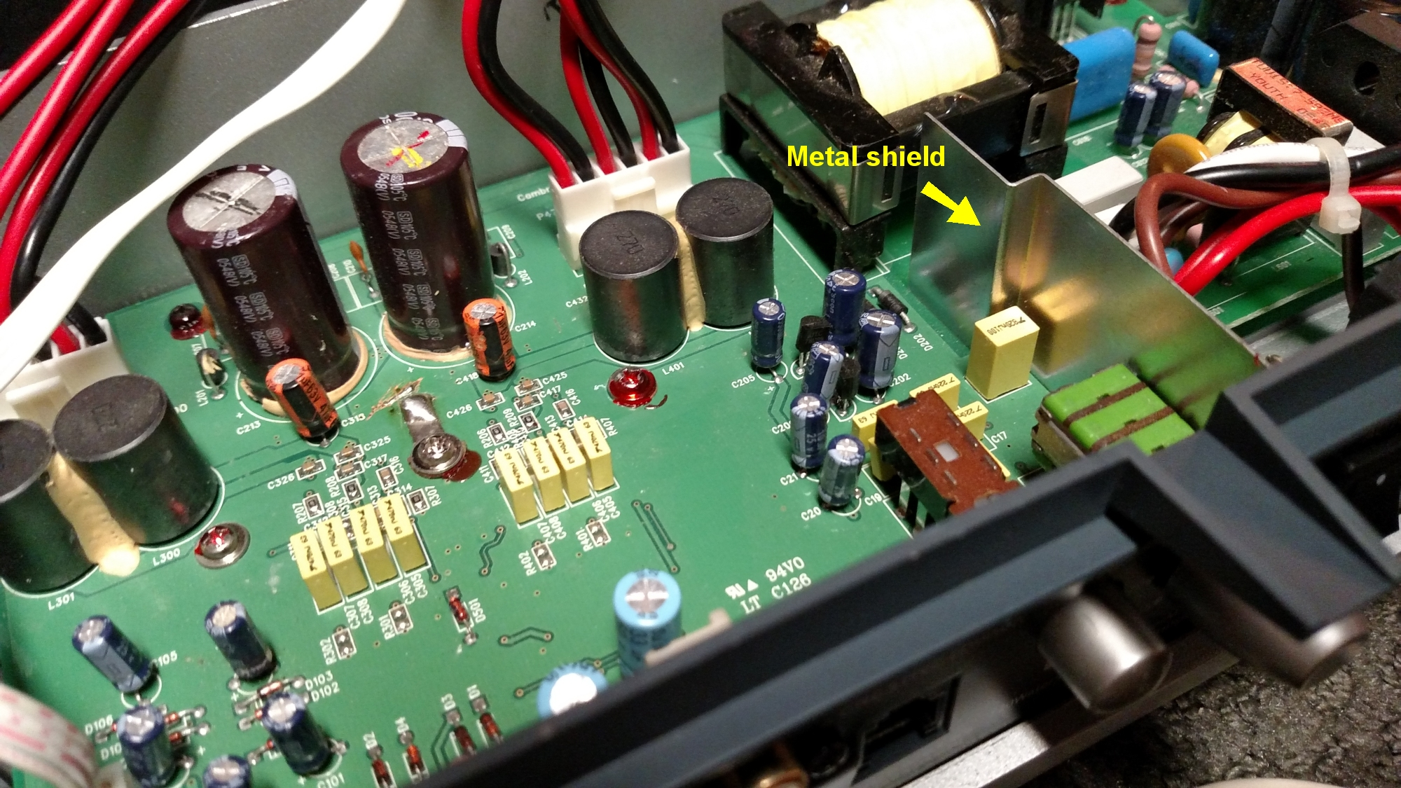 PS300HD Amp Metal Shield