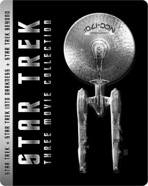 Star Trek 3-Movie Collection Revised SteelBook Art