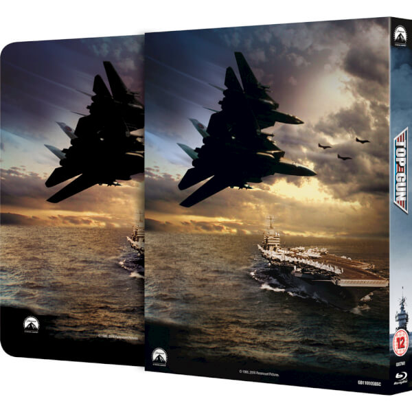 Top Gun SteelBook back