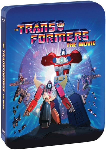 Transformers The Movie 1986 SteelBook