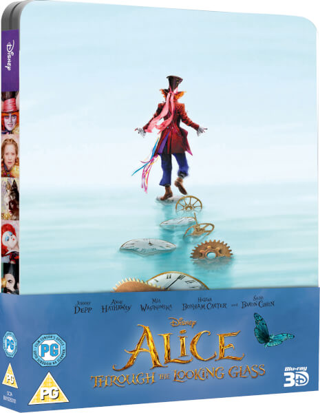 Alice Through the Looking Glass SteelBook