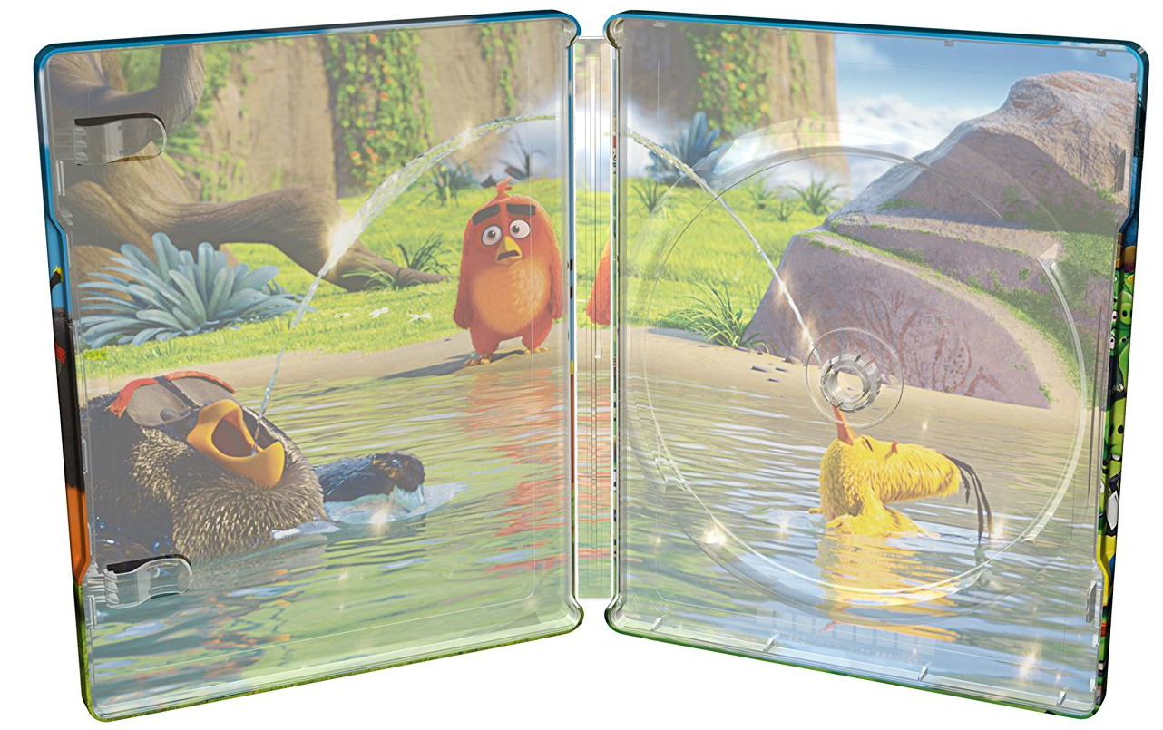 Angry Birds Movie SteelBook inside