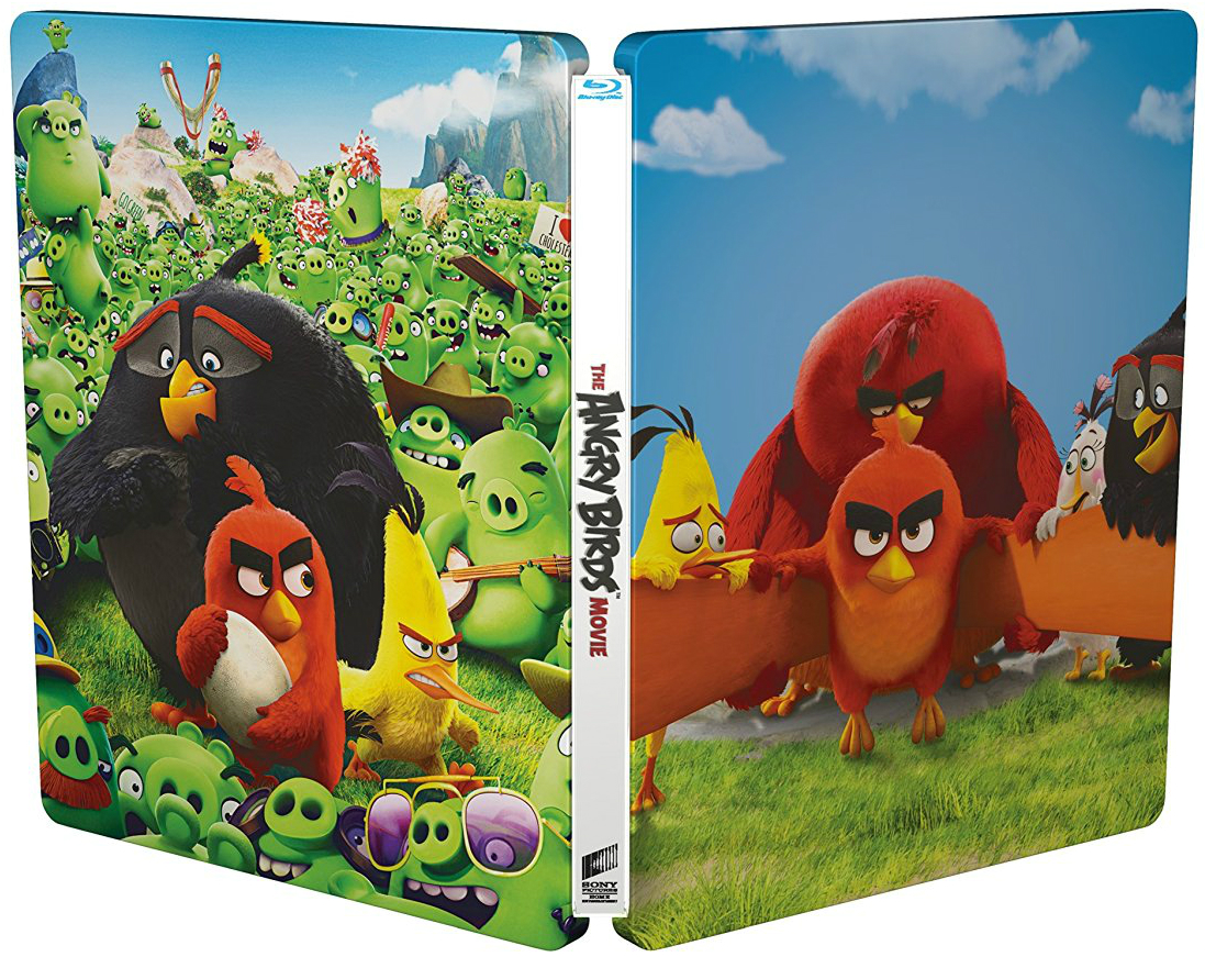 Angry Birds Movie SteelBook outside