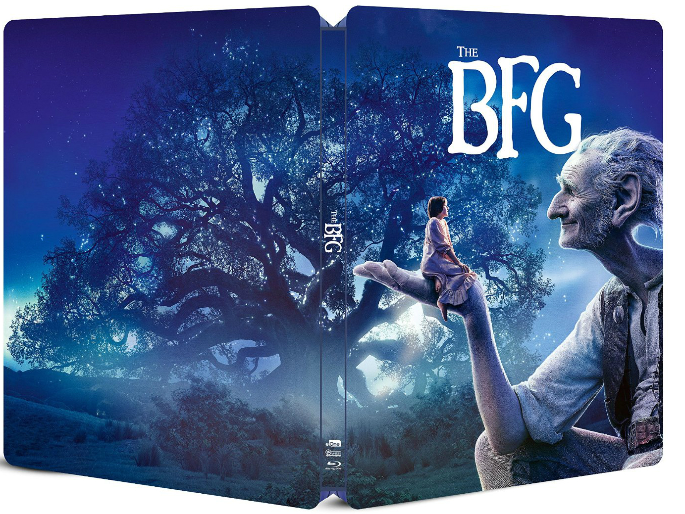 The BFG SteelBook outside