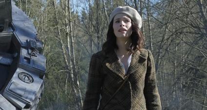 "TIMELESS -- ""Pilot"" -- Pictured: (l-r) Malcolm Barrett as Rufus Carlin, Matt Lanter as Wyatt Logan, Abigail Spencer as Lucy Preston -- (Photo by: Joe Lederer/NBC)"