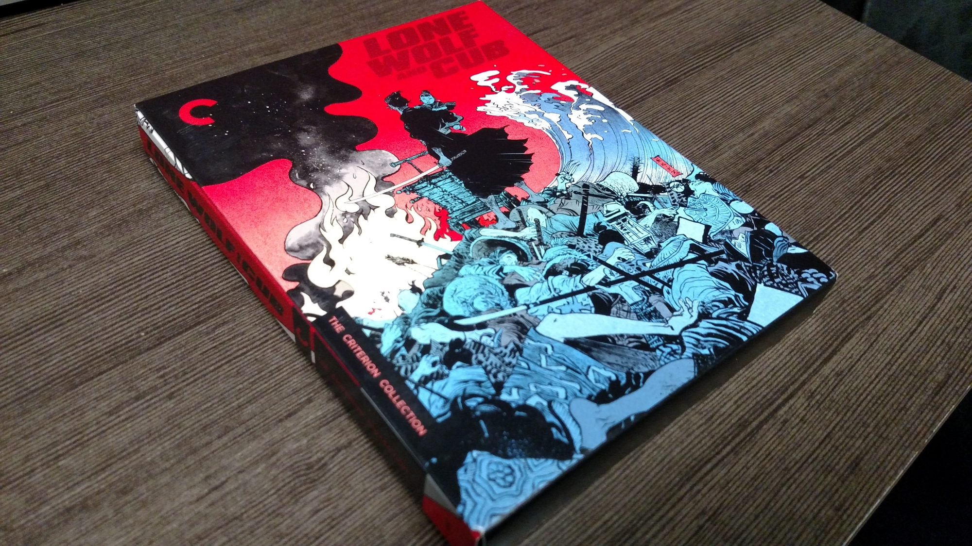 Lone Wolf and Cub Blu-ray front cover