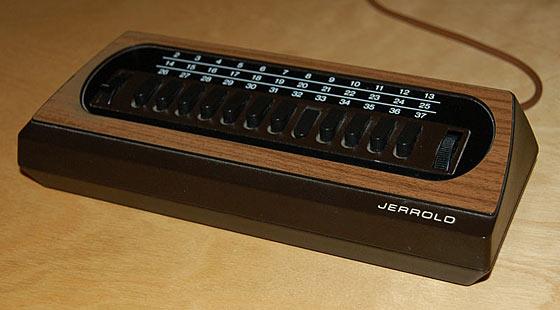 Corded remote control