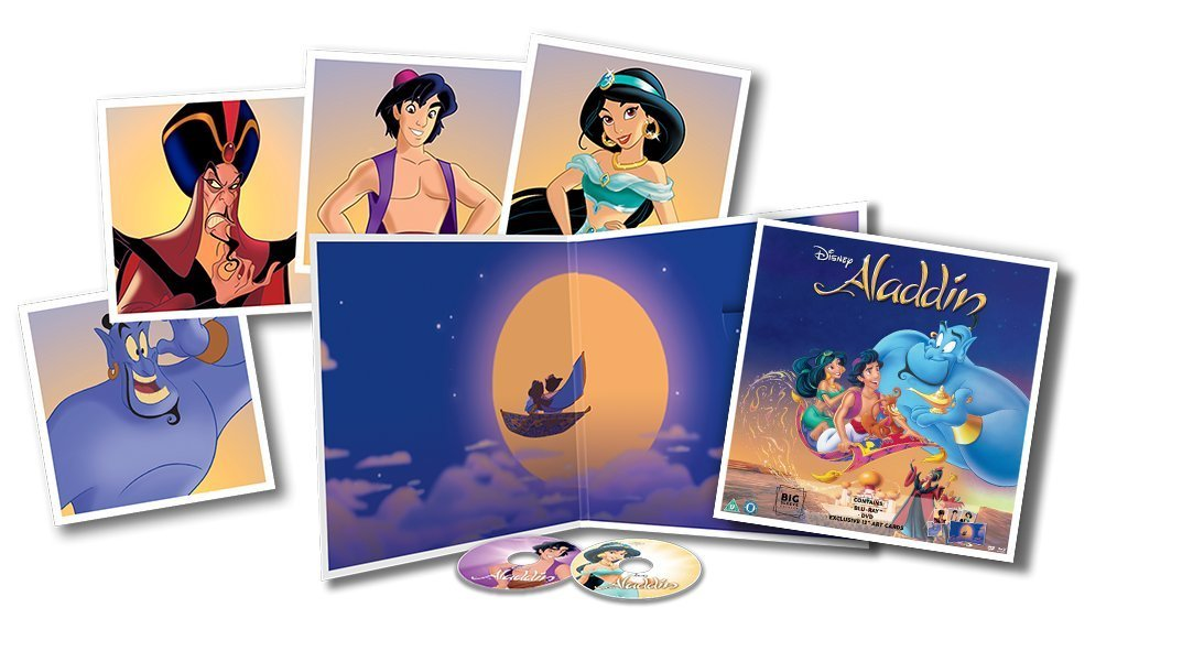Aladdin Big Sleeve Blu-ray contents