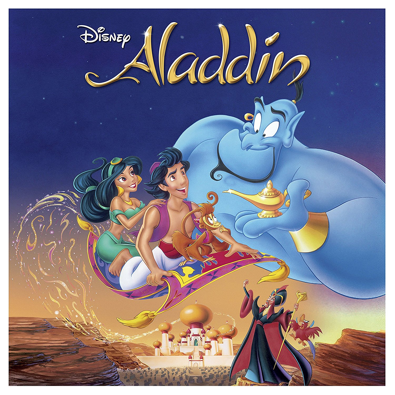 Aladdin Big Sleeve Blu-ray front