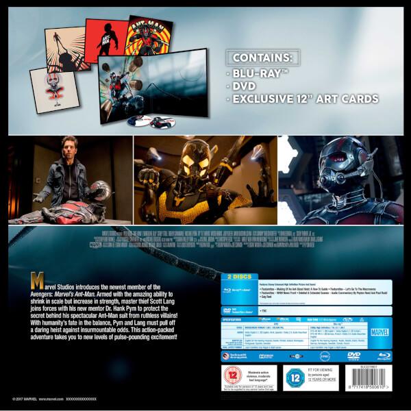 Ant-Man Big Sleeve Blu-ray backer
