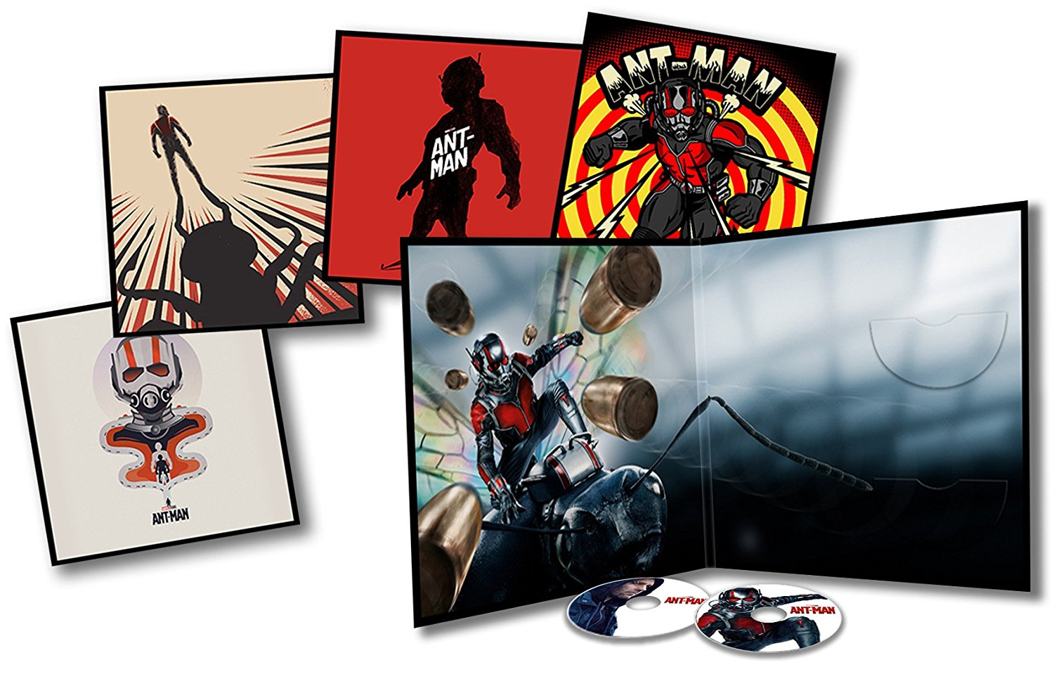 Ant-Man Big Sleeve Blu-ray contents
