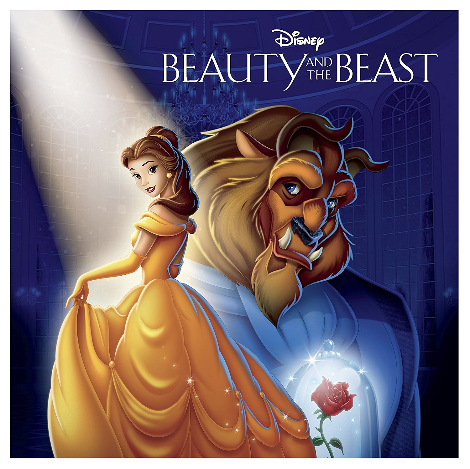 Beauty and the Beast Big Sleeve Blu-ray front