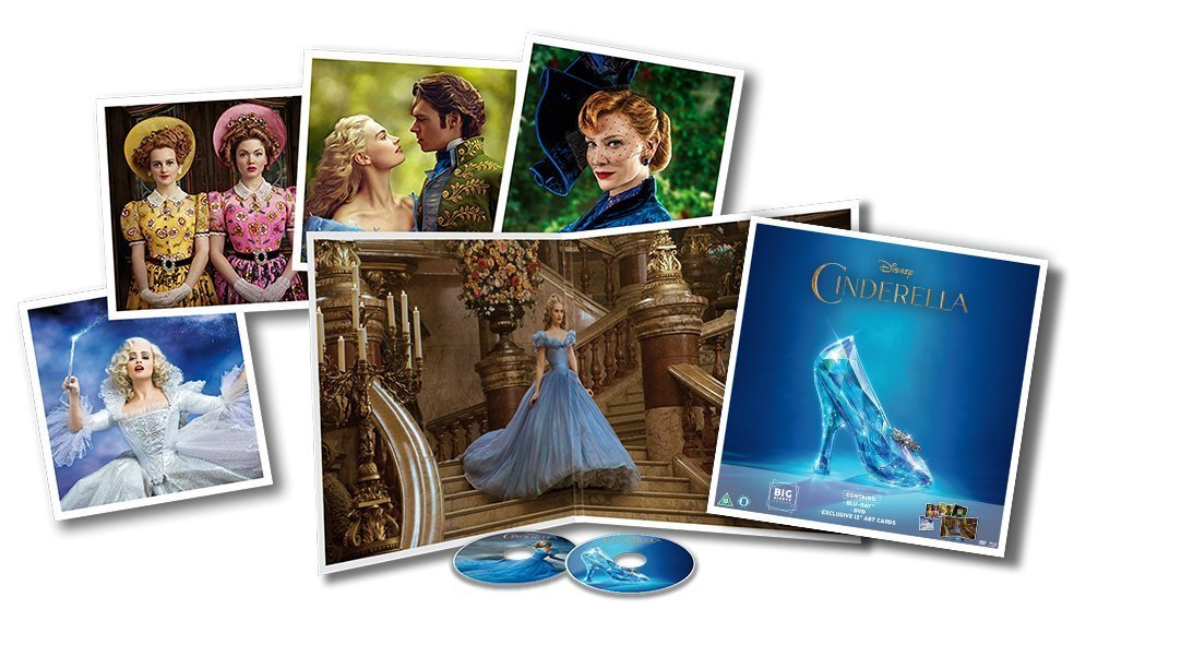 Cinderella Big Sleeve Blu-ray contents