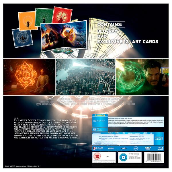 Doctor Strange Big Sleeve Blu-ray backer