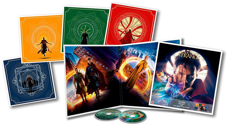 Doctor Strange Big Sleeve Blu-ray contents