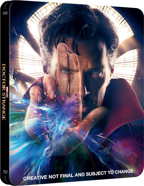 Doctor Strange UK SteelBook