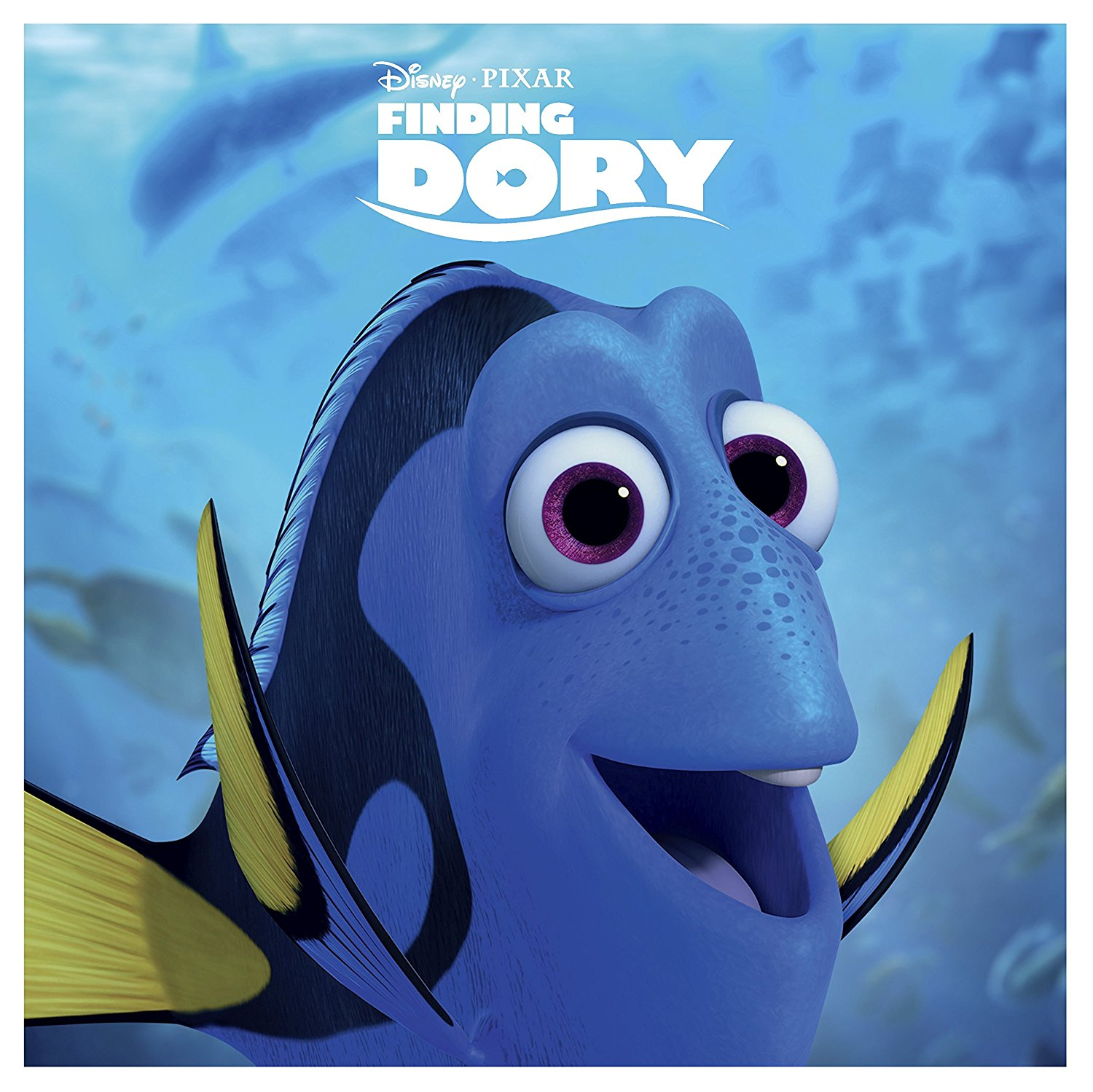 Finding Dory Big Sleeve Blu-ray front