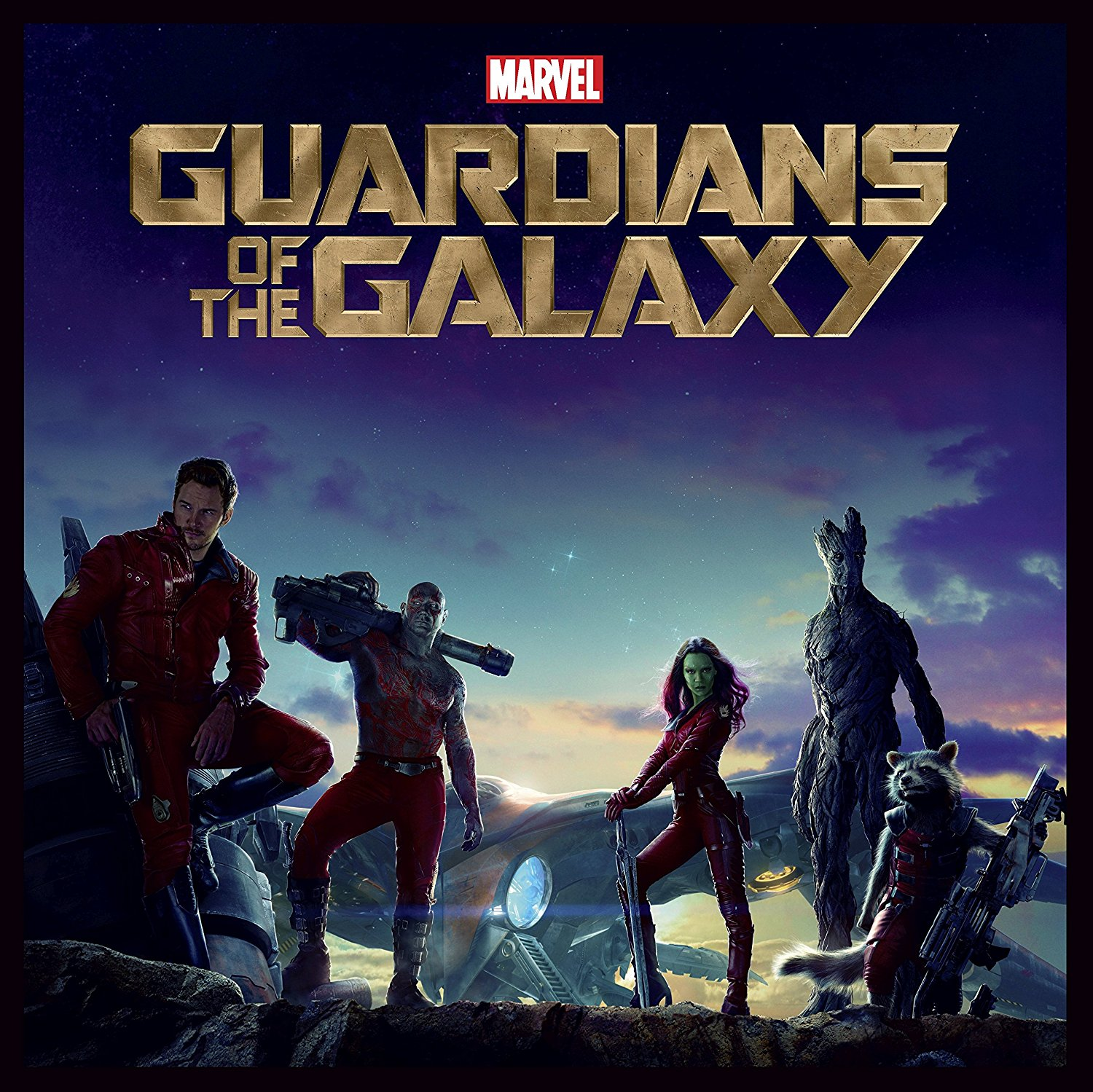 Guardians of the Galaxy Big Sleeve Blu-ray front