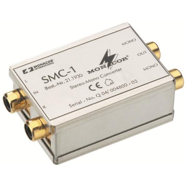 Monacor SMC-1 Stereo-to-Mono Converter