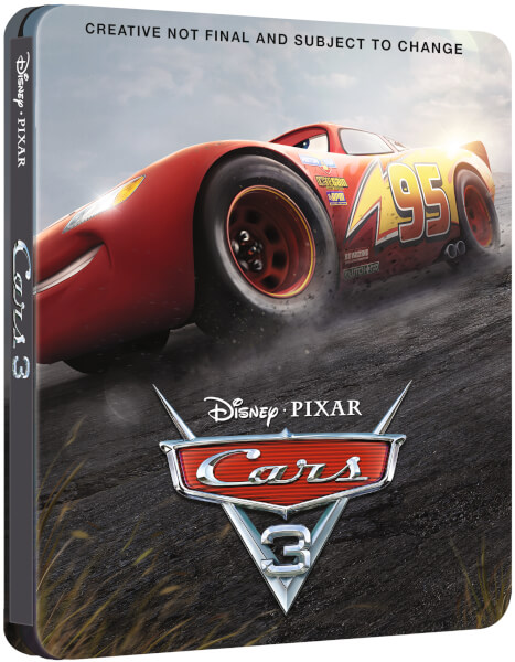 Cars 3 SteelBook UK