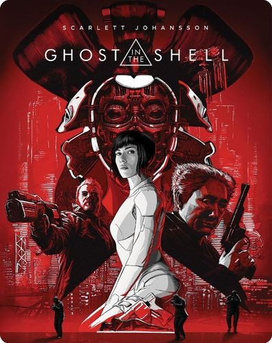 Ghost in the Shell 2017 SteelBook