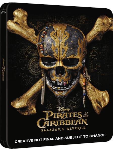 Pirates of the Caribbean: Dead Men Tell No Tales SteelBook