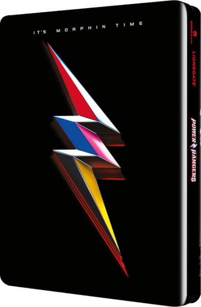 Power Rangers SteelBook back
