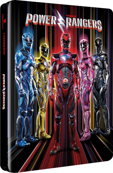 Power Rangers SteelBook front