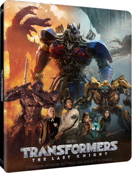 Transformers: The Last Knight SteelBook UK
